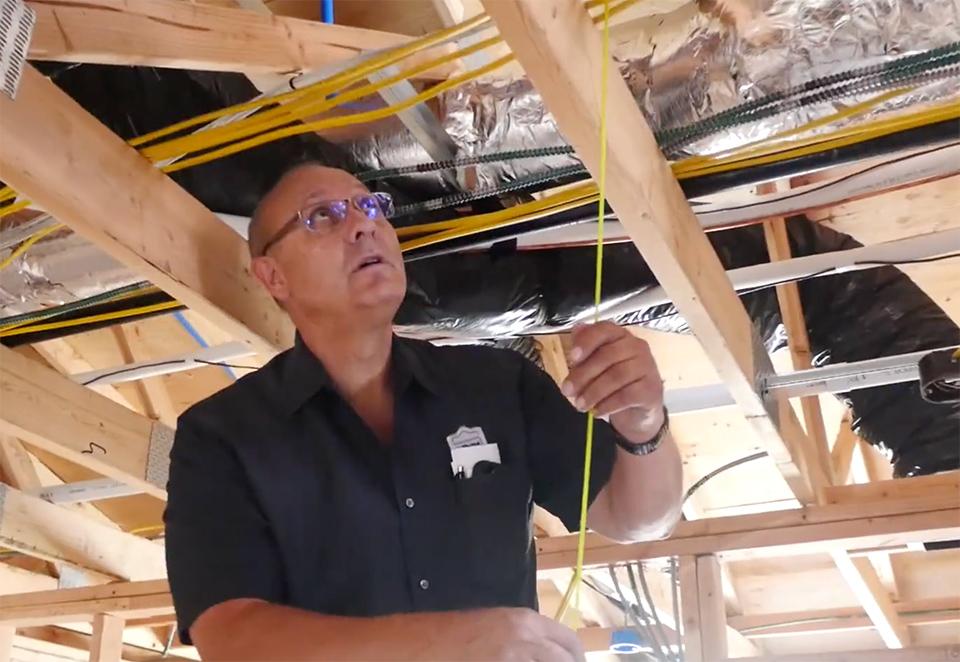 Phone Master Overhead Install